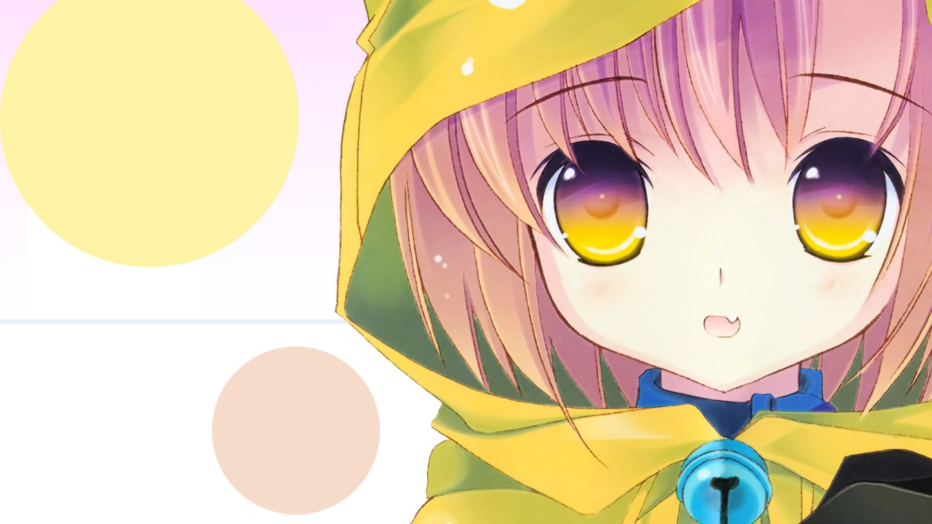 Hoodie Cute Anime Girl Desktop wallpaper
