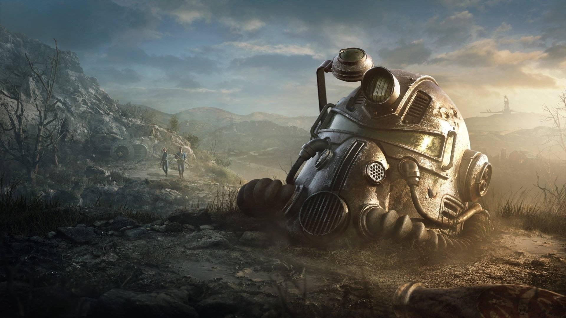 Fallout 76 a wallpaper