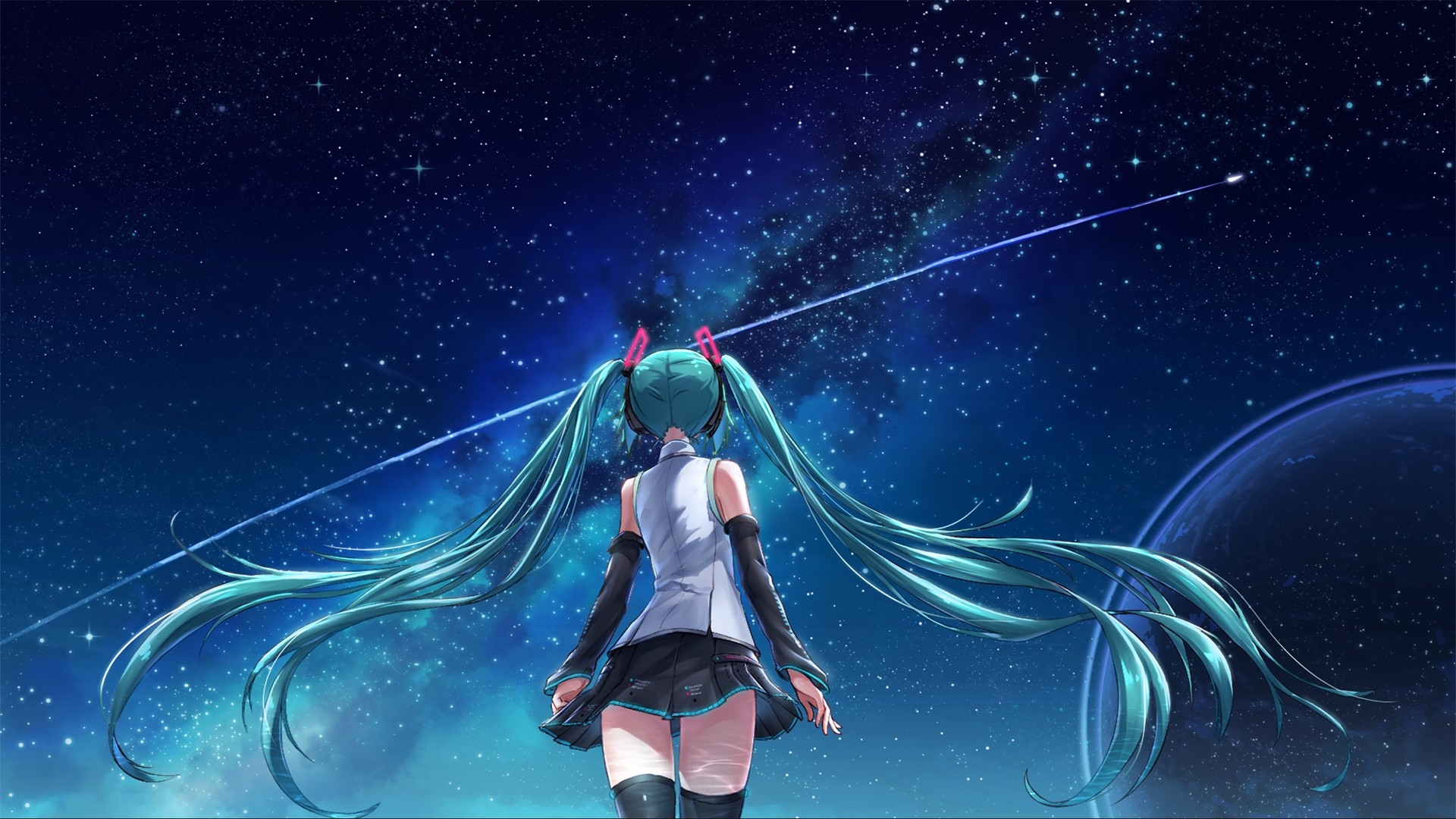 Hatsune Miku Background