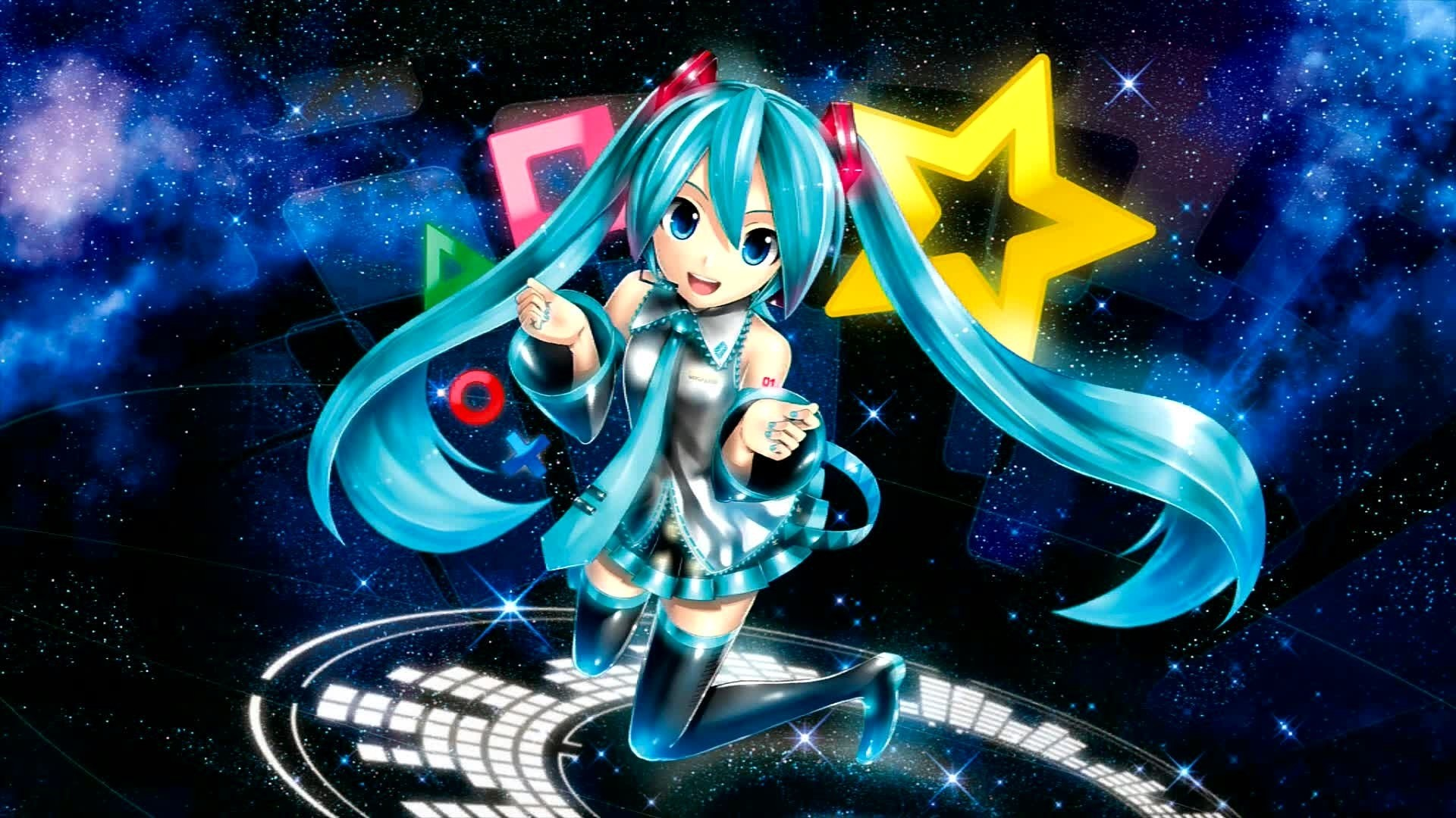 Hatsune Miku a wallpaper