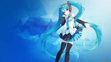 Hatsune Miku Wallpaper theme