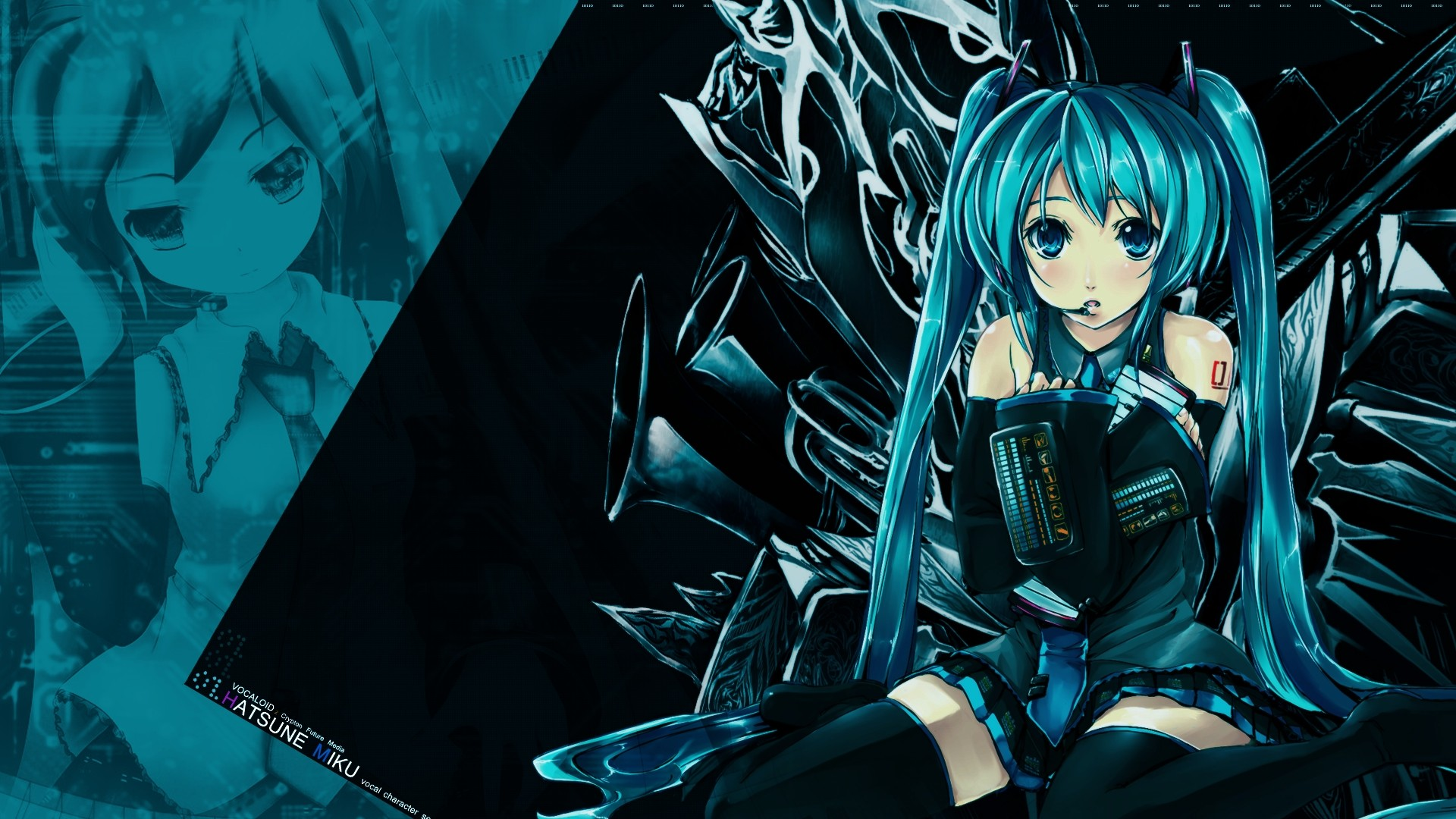 Hatsune Miku hd desktop wallpaper