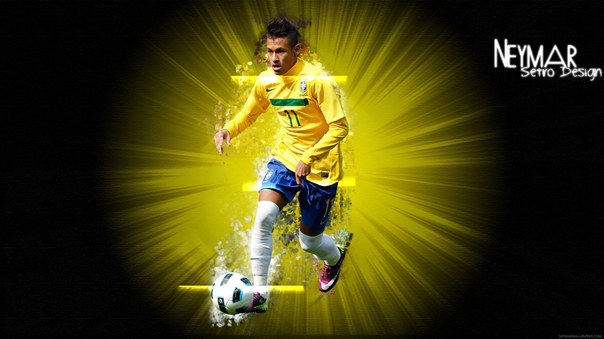 Neymar Jr Wallpaper theme
