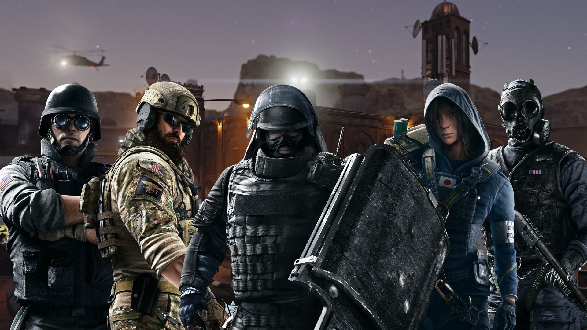 Rainbow Six Wallpaper and Background