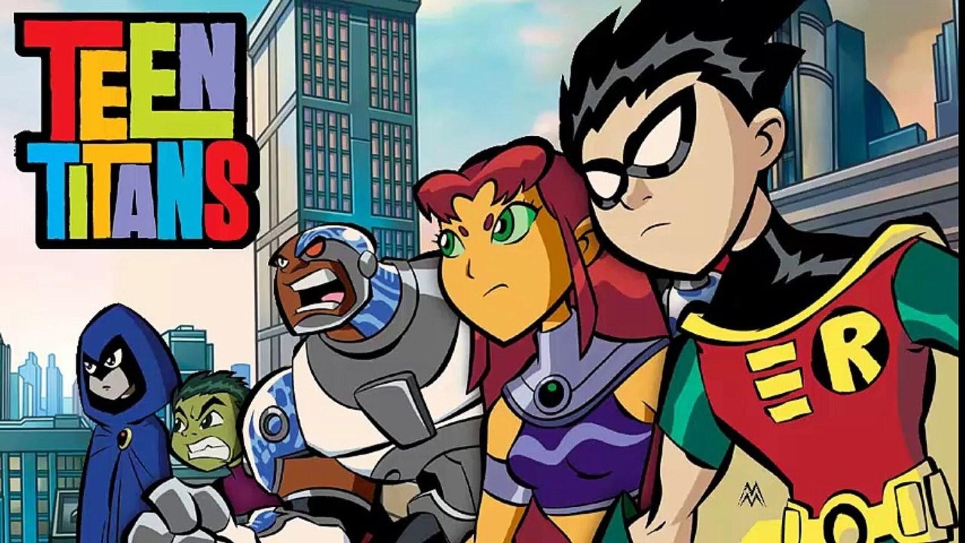 Teen Titans computer wallpaper