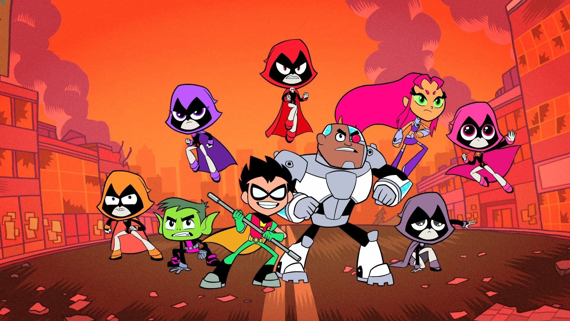 Teen Titans Wallpaper and Background