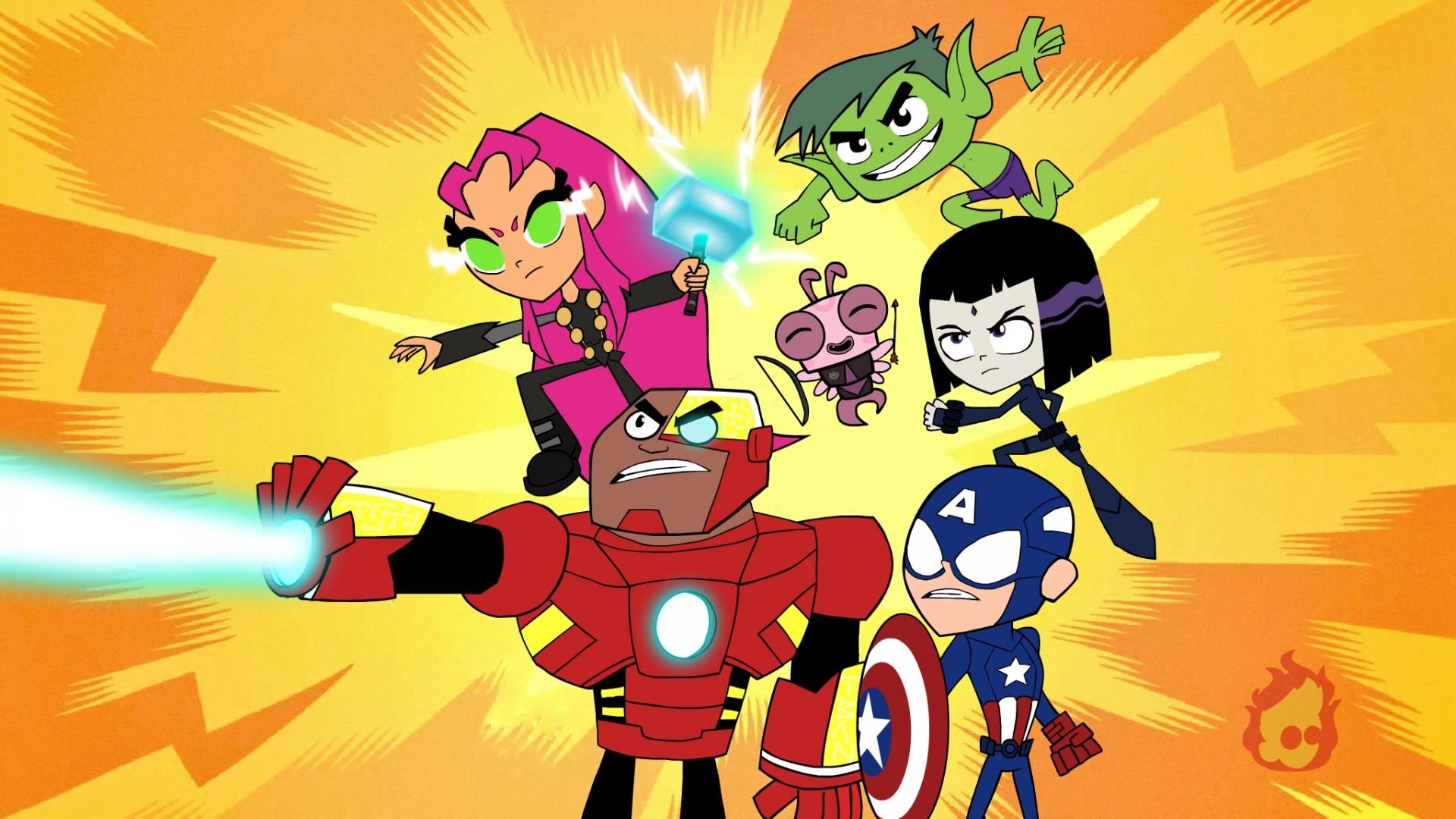 Teen Titans a wallpaper