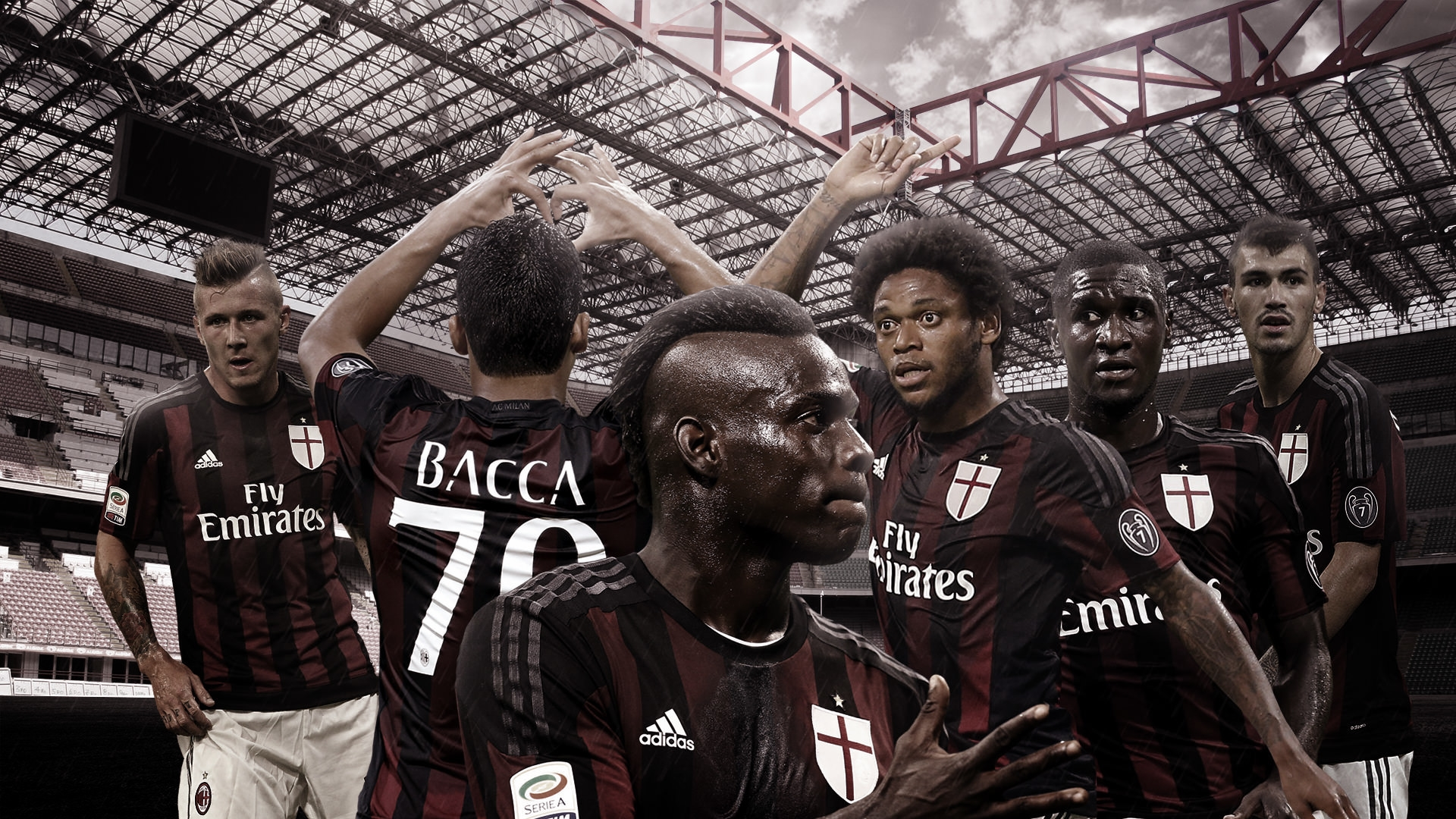 Ac Milan Background Wallpaper