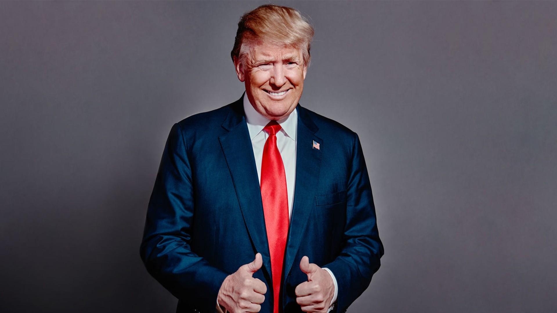 Donald Trump a wallpaper