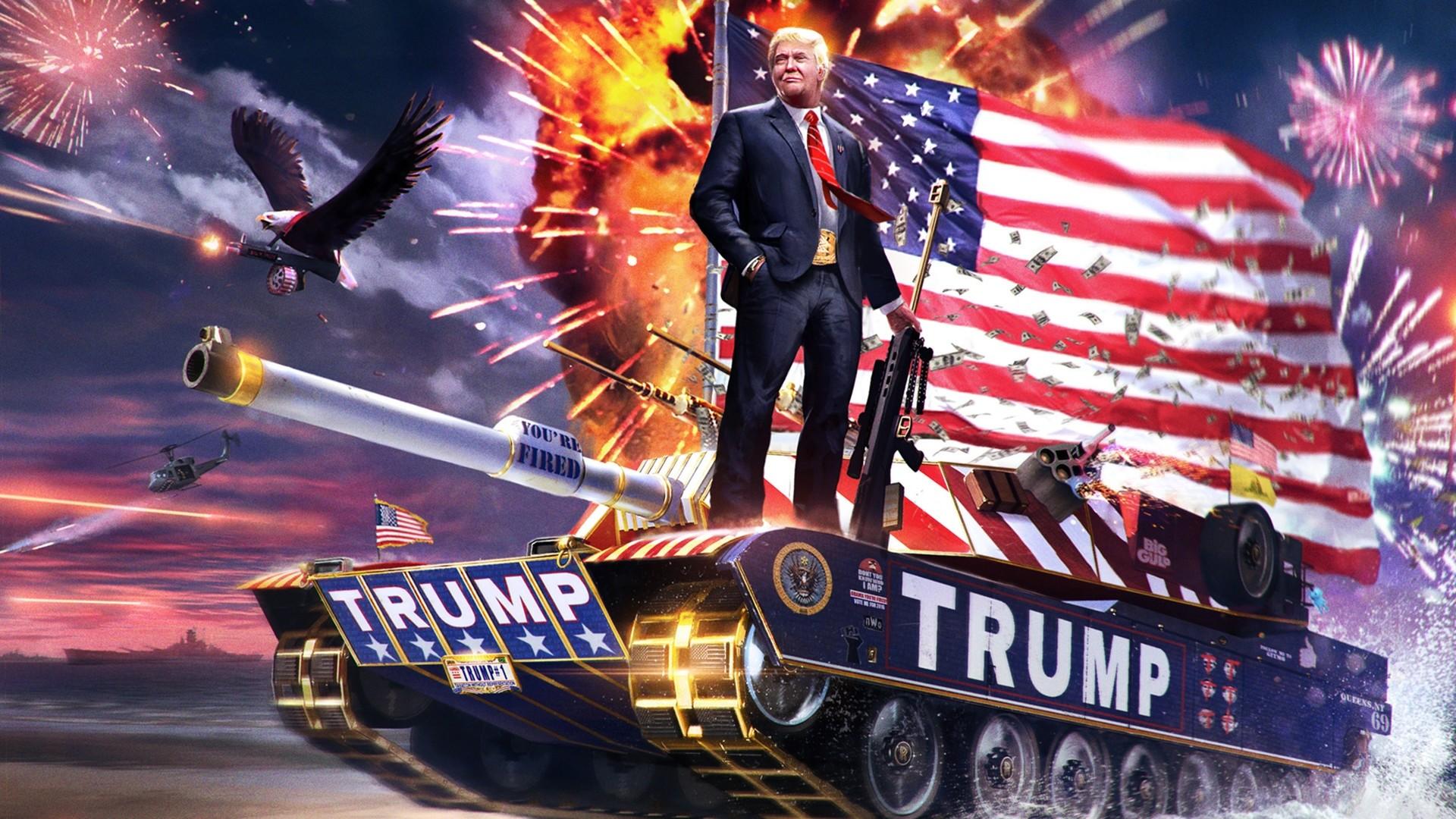 Donald Trump PC Wallpaper HD