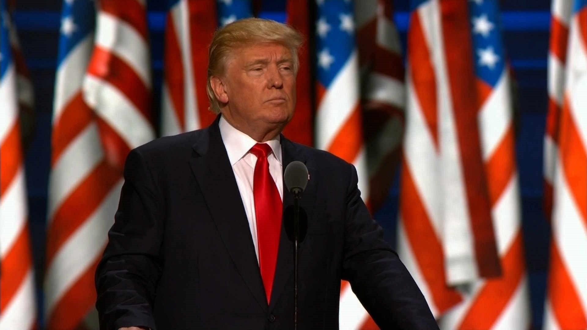 Donald Trump HD Wallpaper