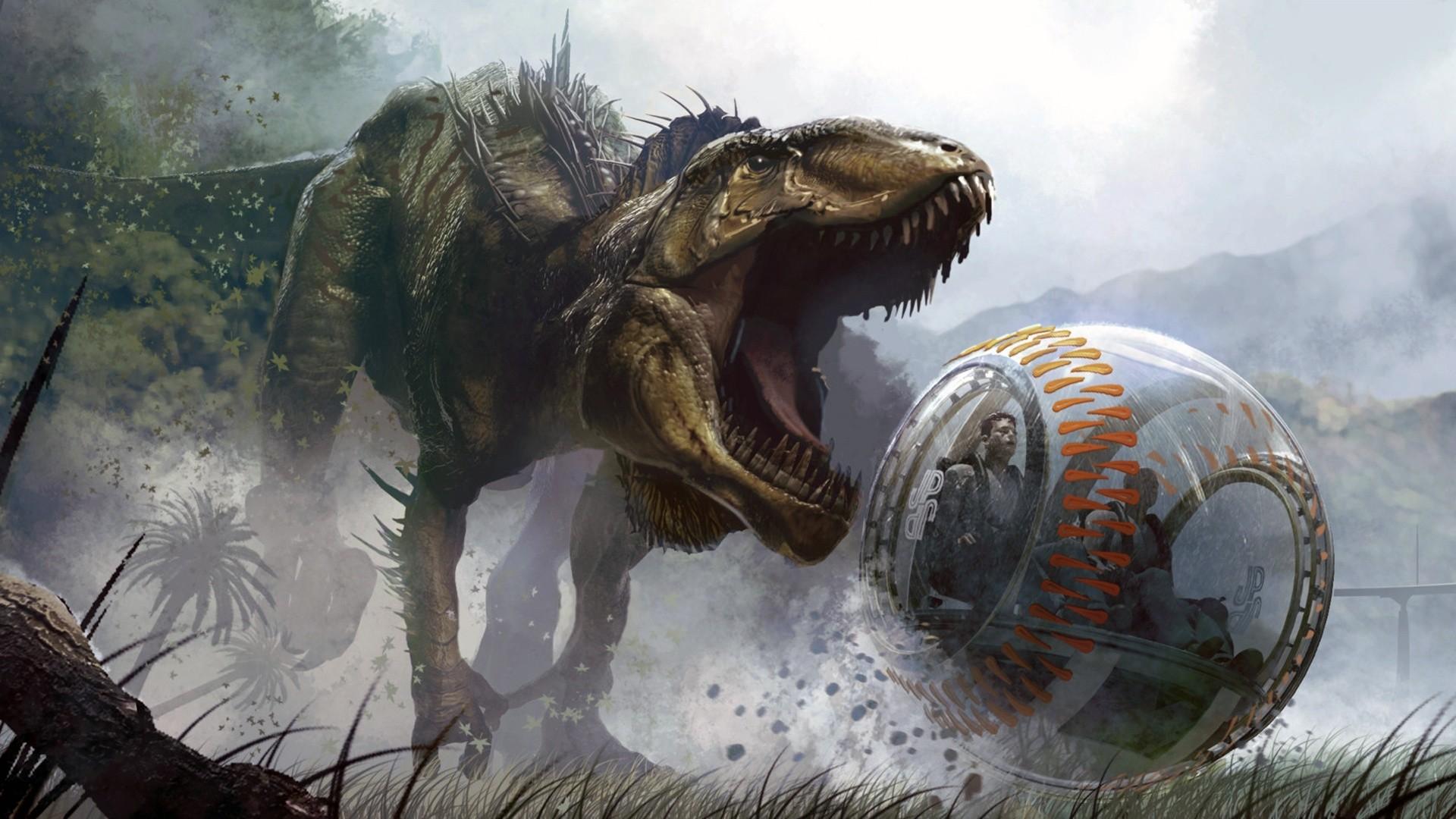 Jurassic World hd desktop wallpaper