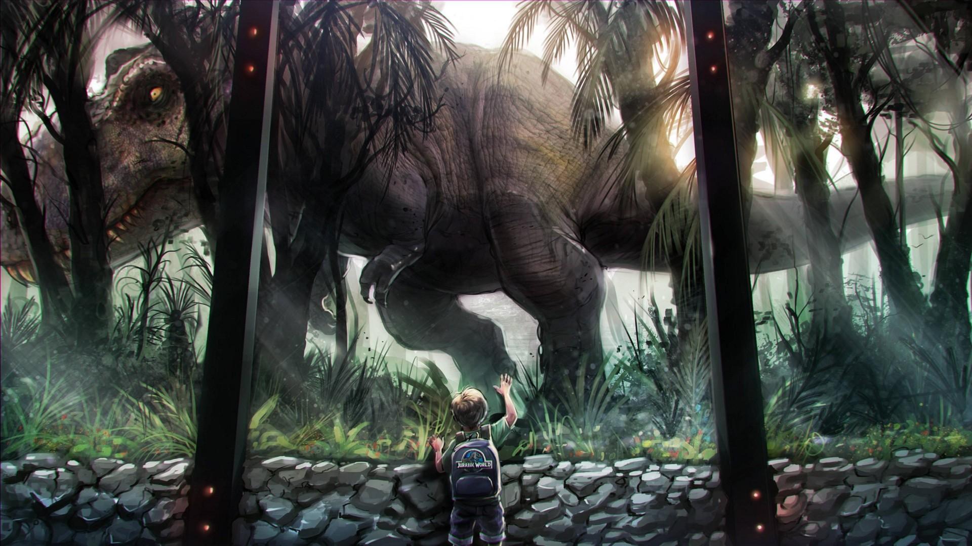 Jurassic World a wallpaper