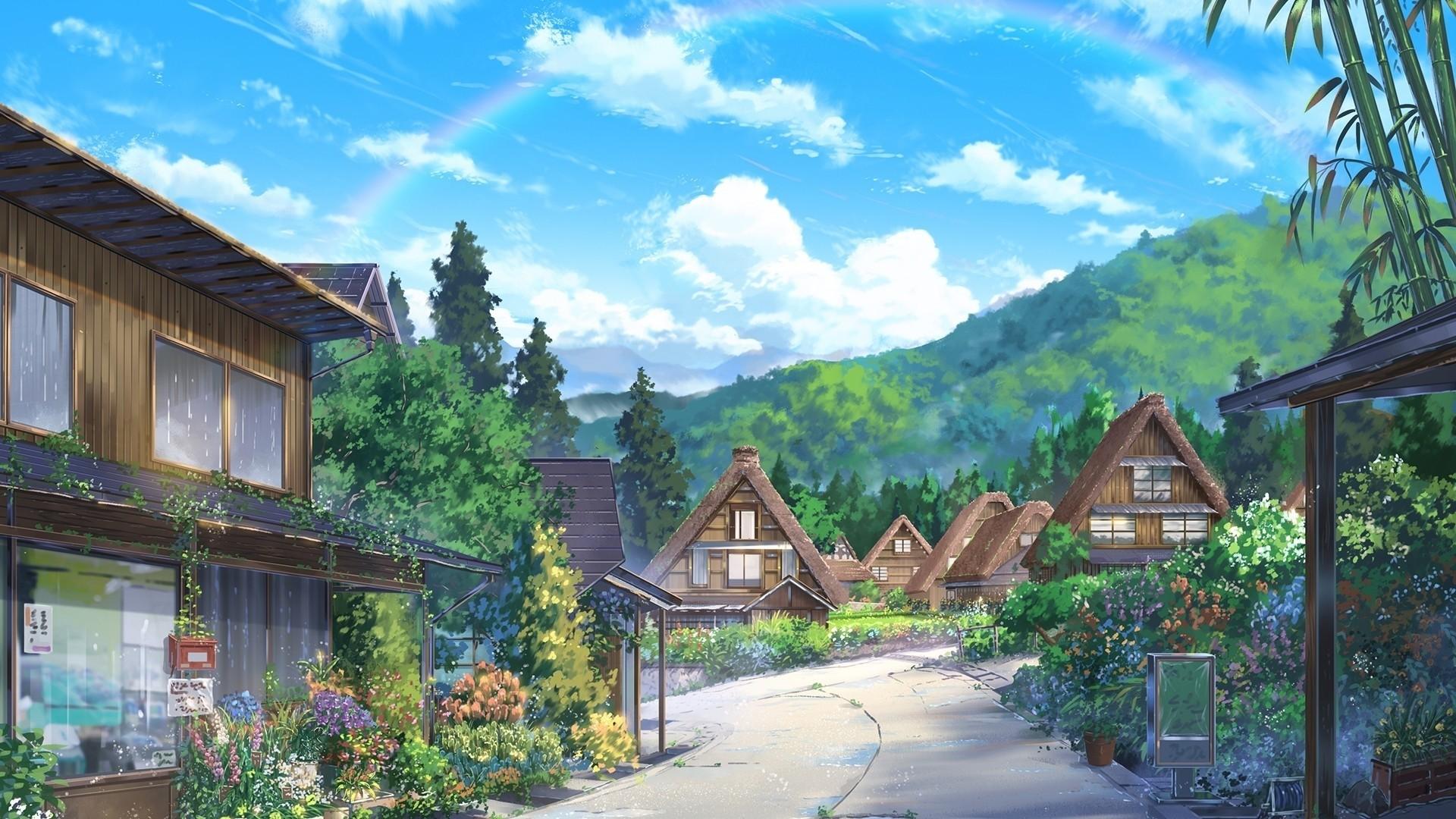 Leaf Village Wallpaper theme