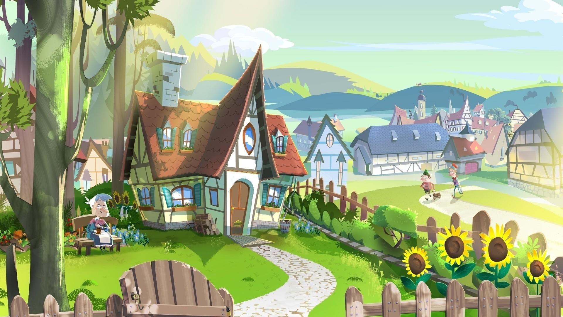 Leaf Village a wallpaper
