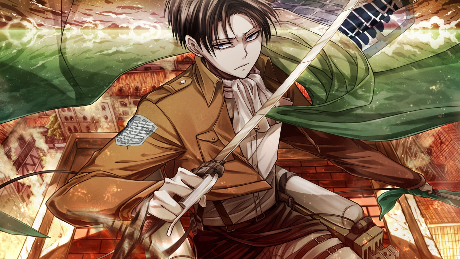 20 Levi Ackerman Wallpapers Wallpaperboat