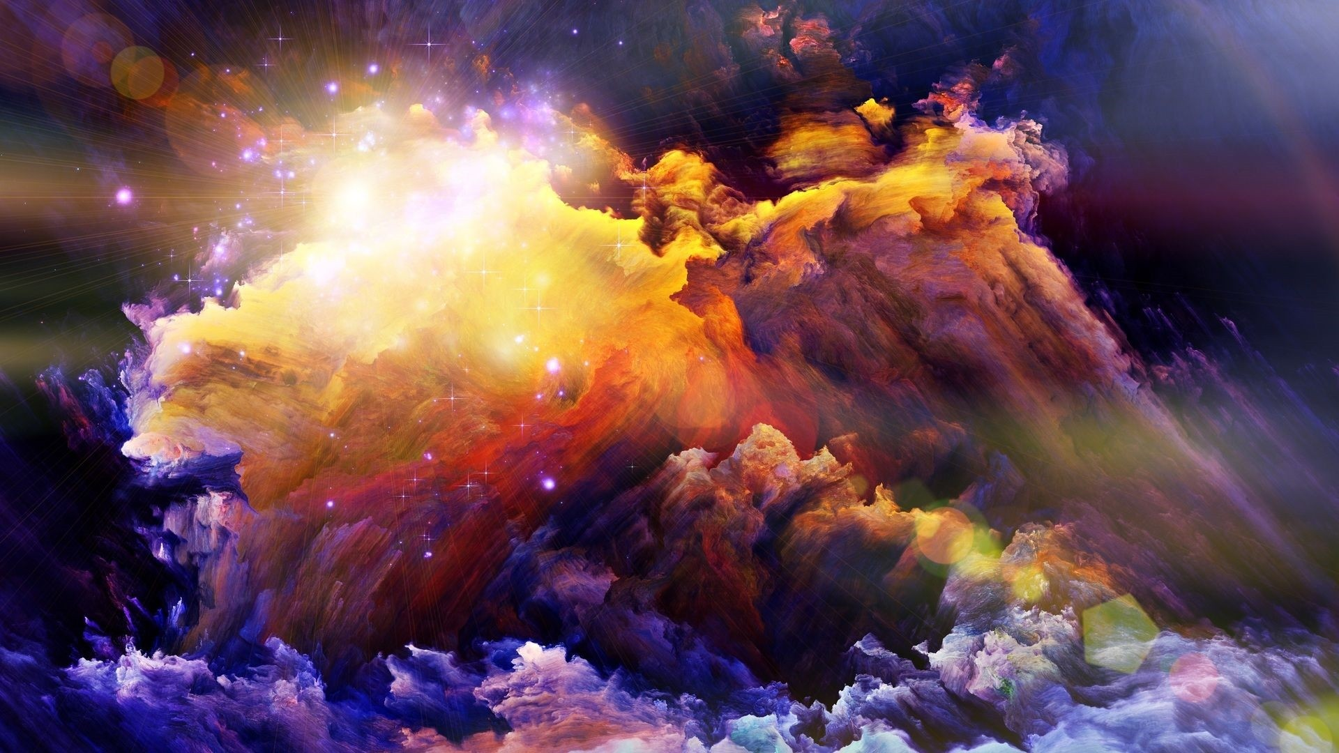 Abstract Space Download Wallpaper