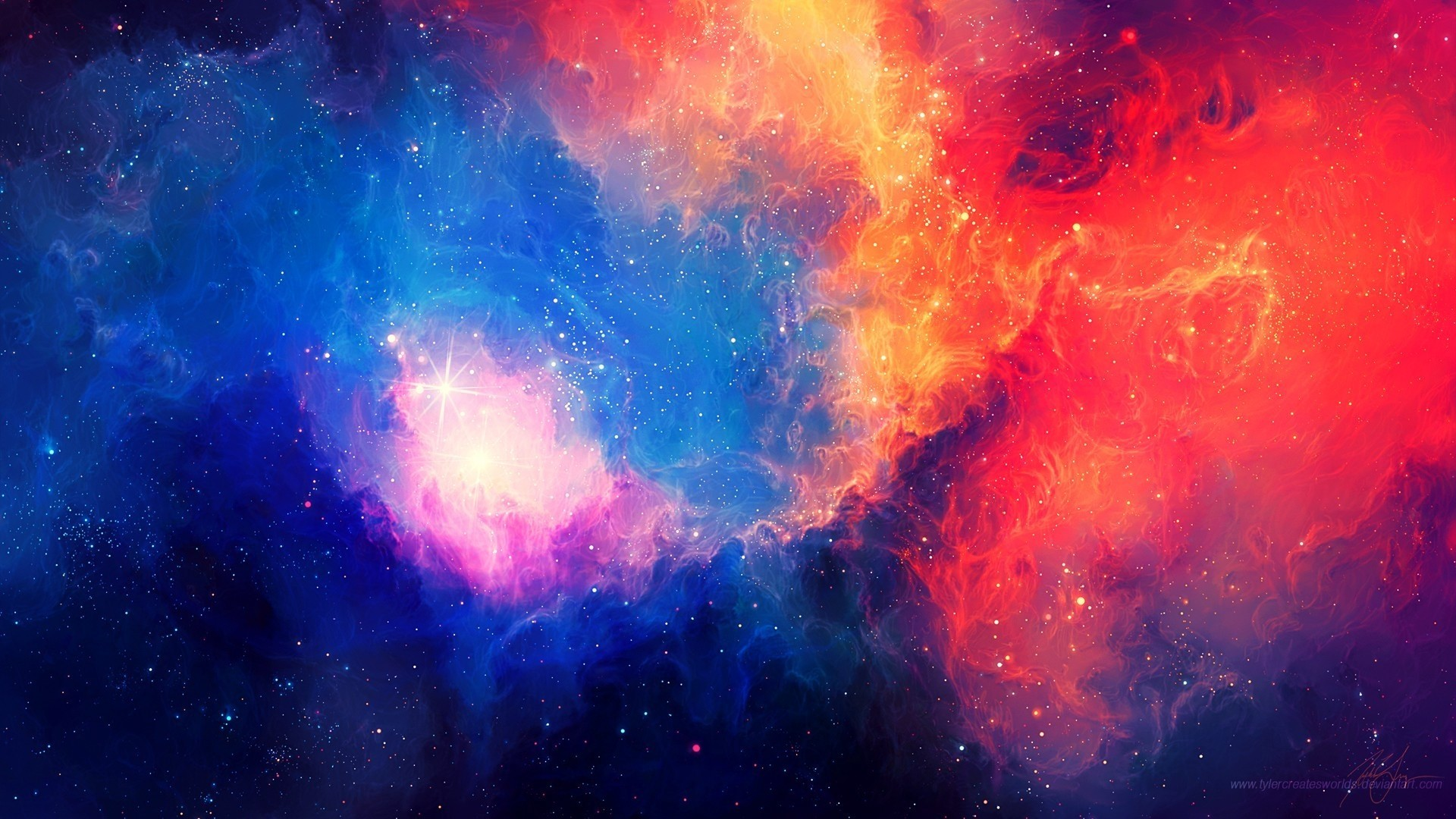 Abstract Space HD Wallpaper