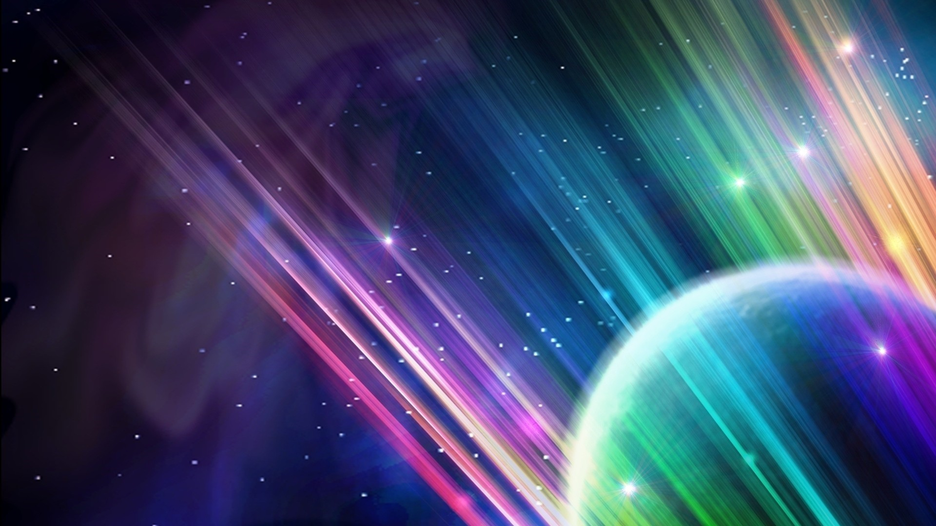 Abstract Space Wallpaper and Background