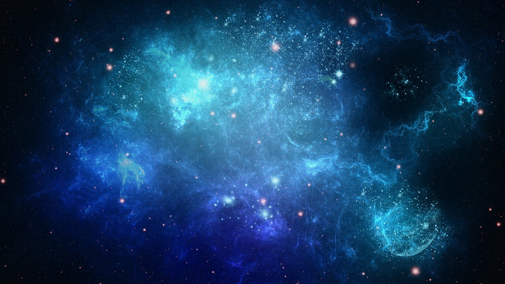Abstract Space Free Wallpaper