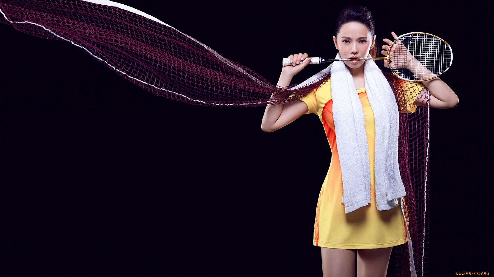 Badminton PC Wallpaper HD