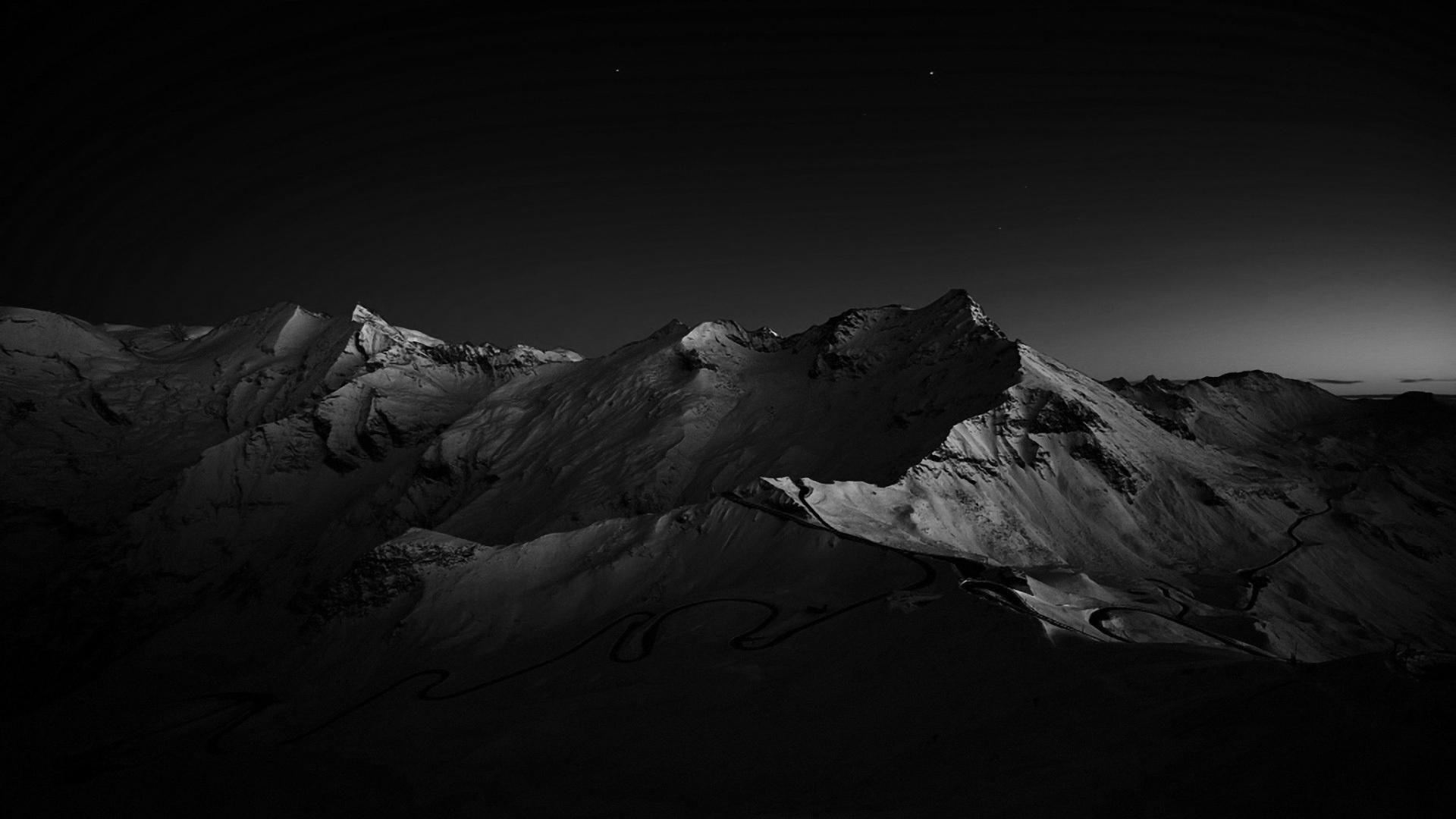 Dark Mountain Wallpaper and Background