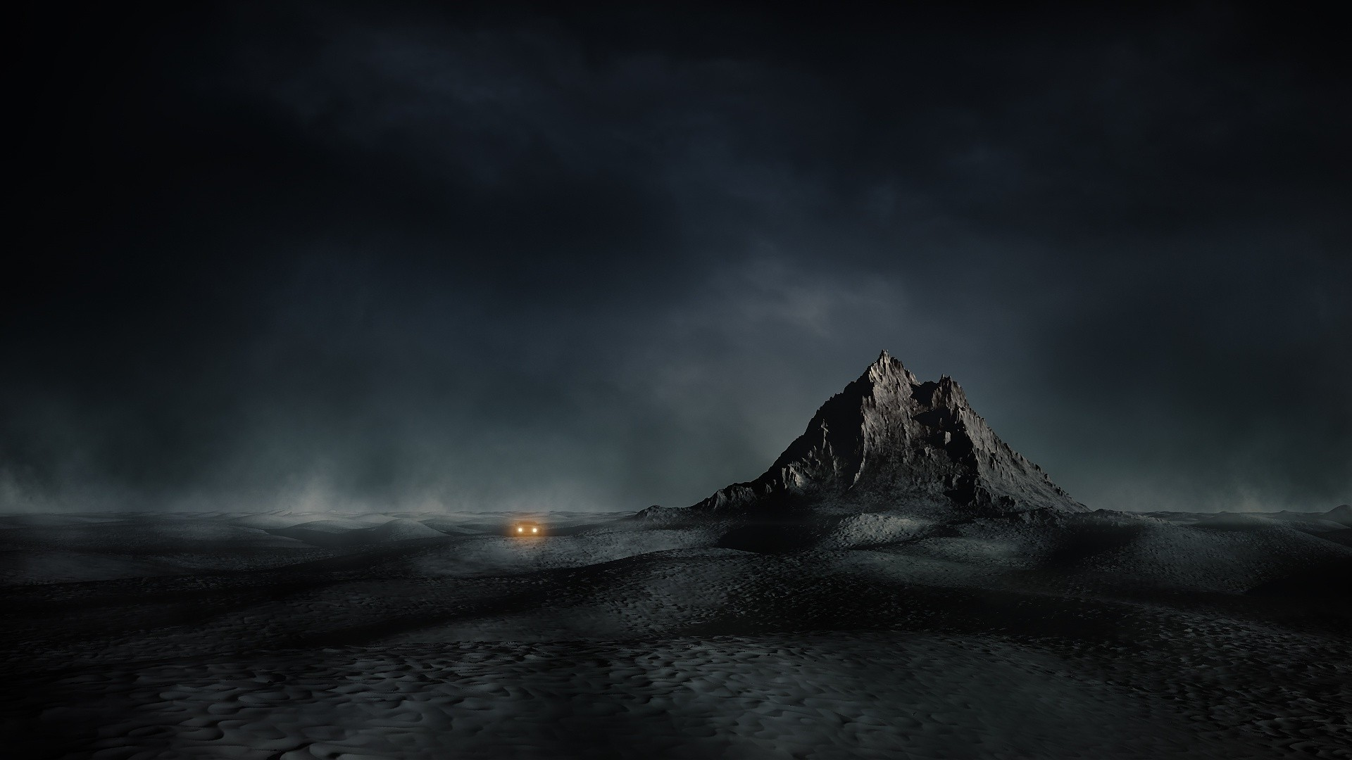 Dark Mountain a wallpaper