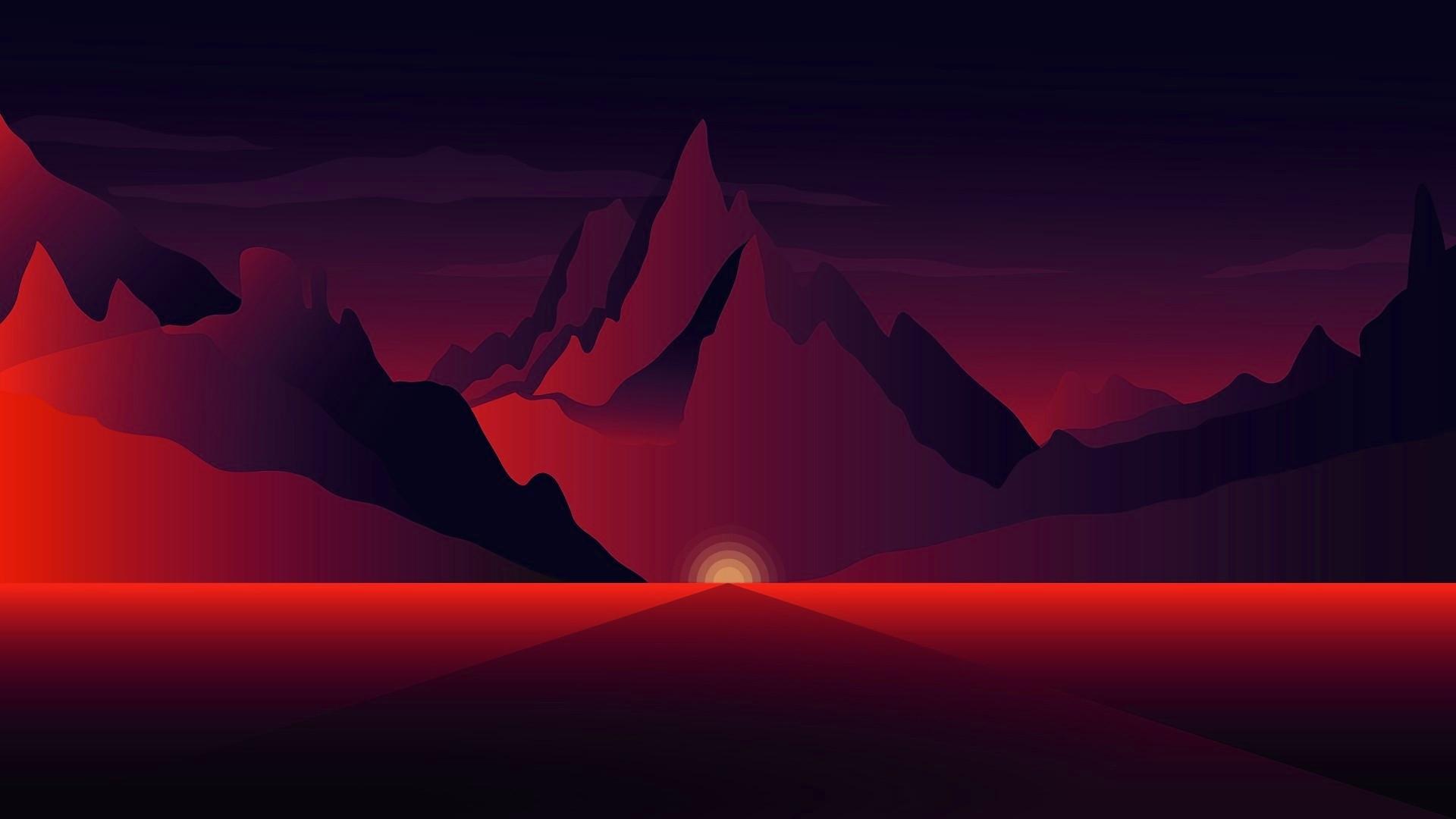 Dark Mountain PC Wallpaper