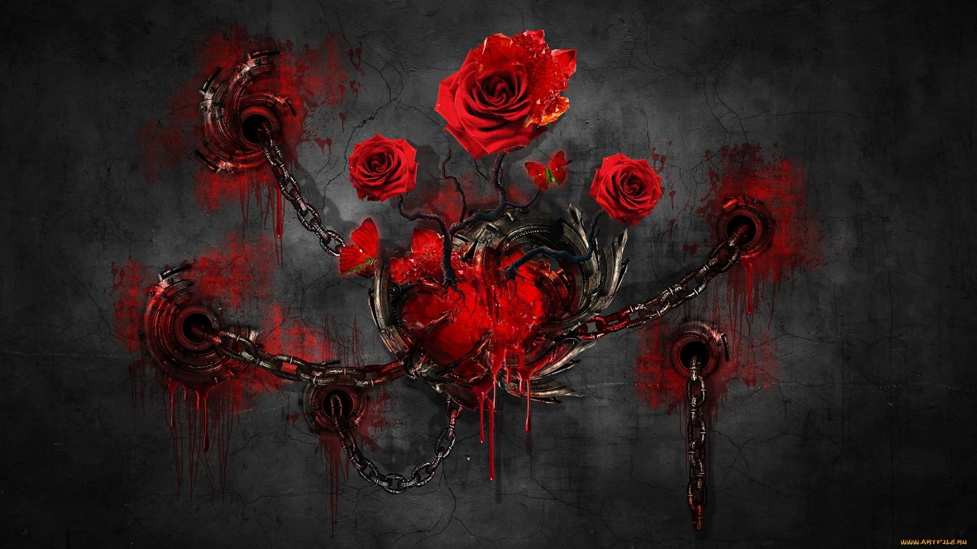 Dead Rose PC Wallpaper HD