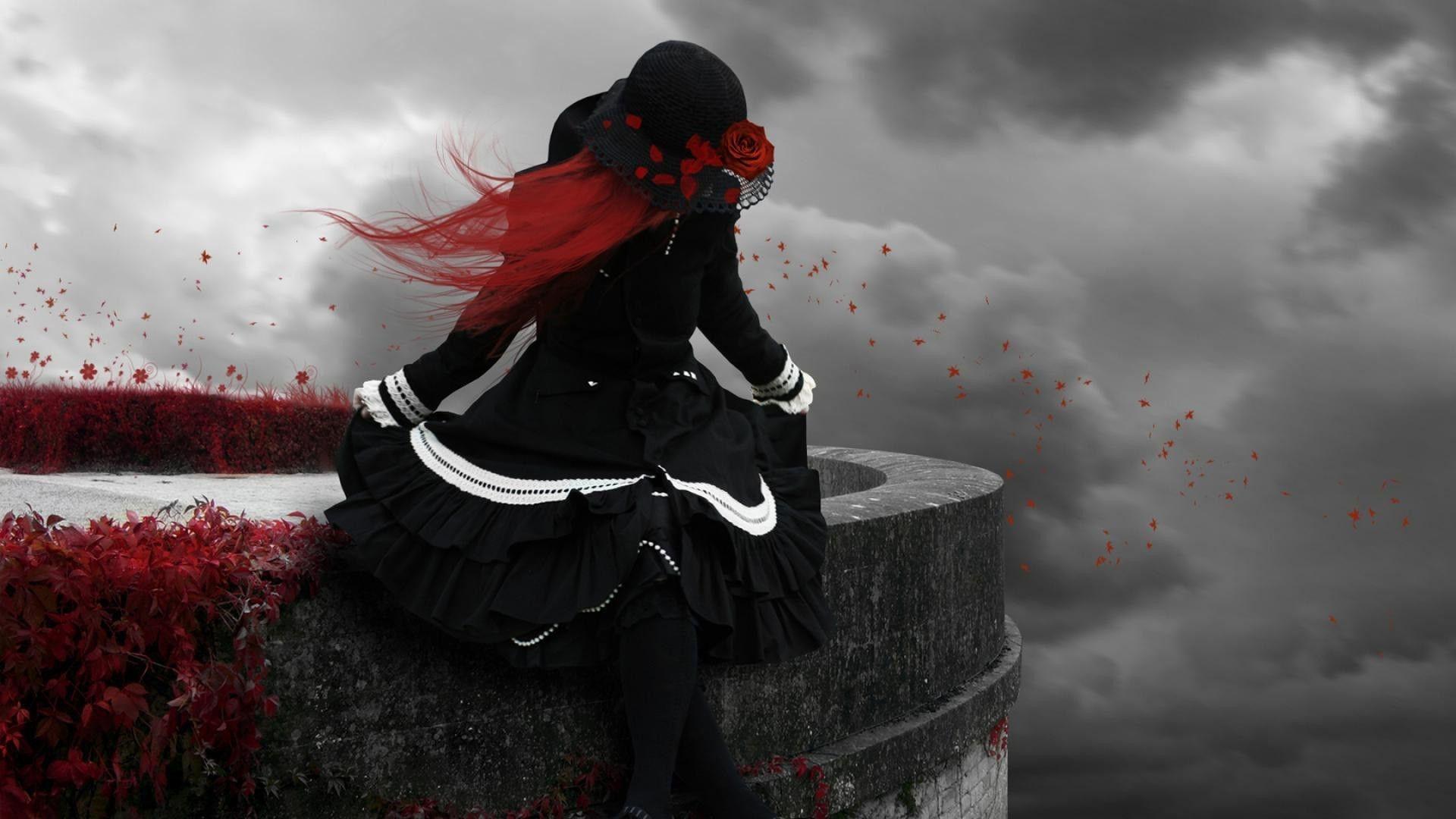 Dead Rose Full HD Wallpaper
