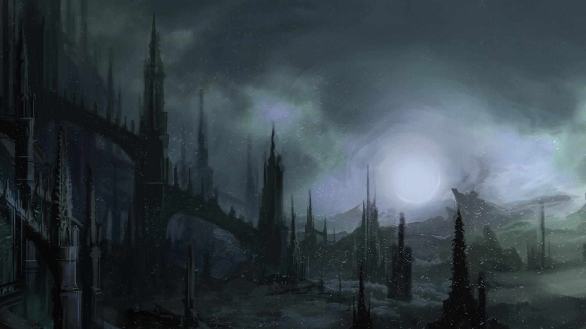Gloomy Background