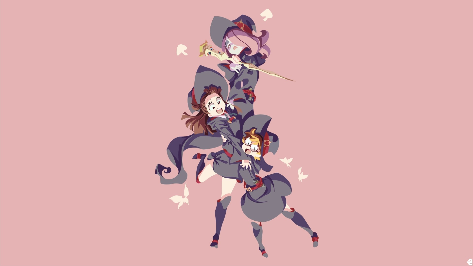Little Witch Academia a wallpaper