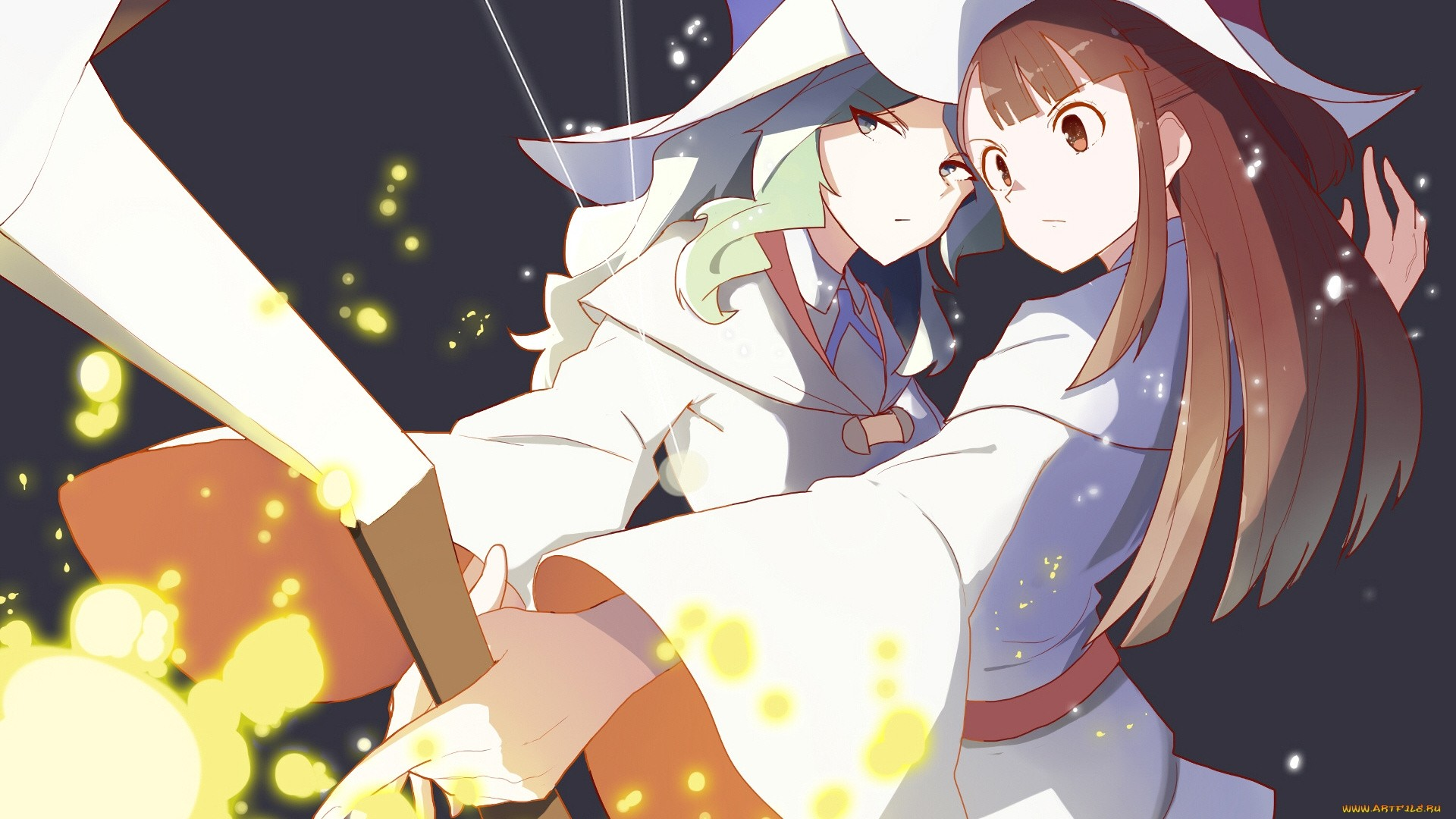 Little Witch Academia HD Wallpaper