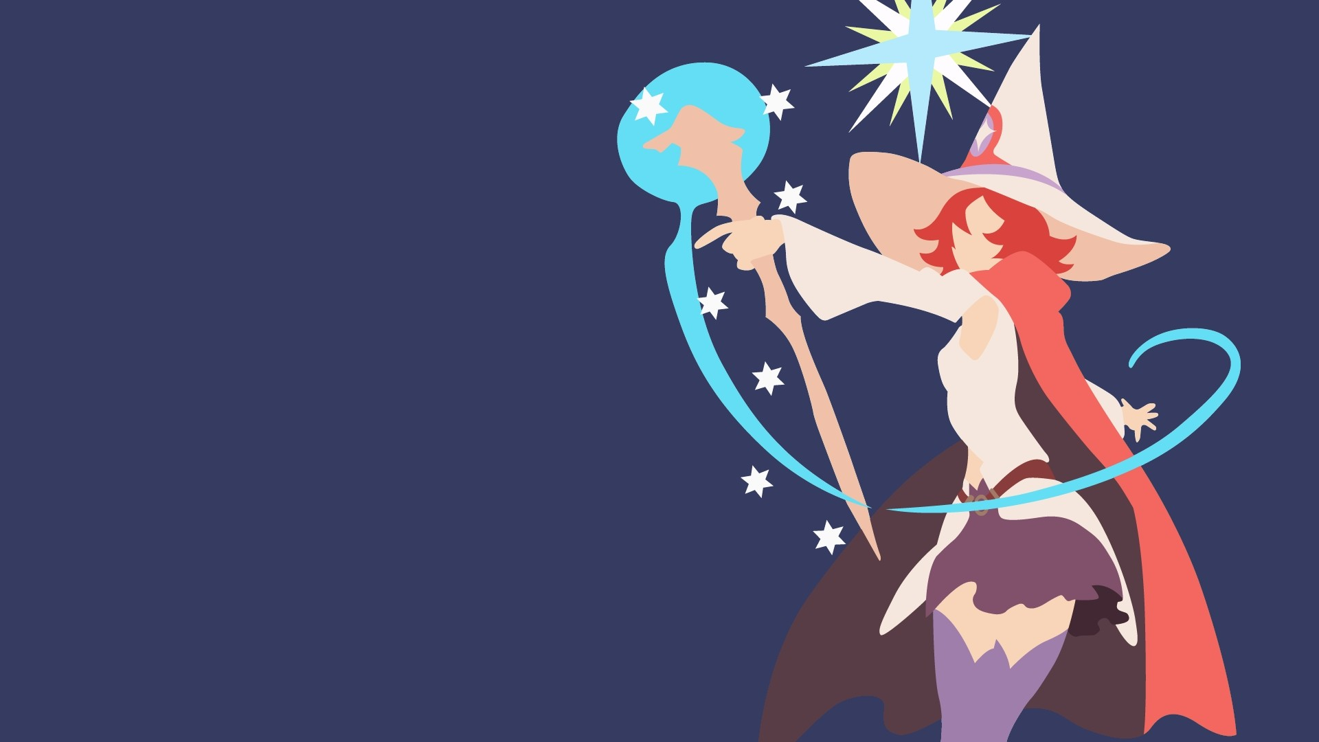 Little Witch Academia Wallpaper theme