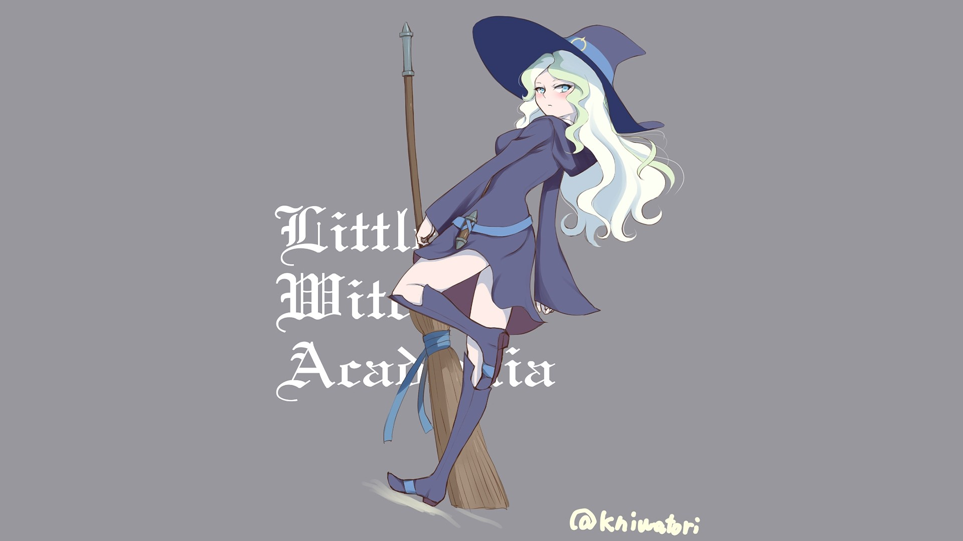 Little Witch Academia Background Wallpaper