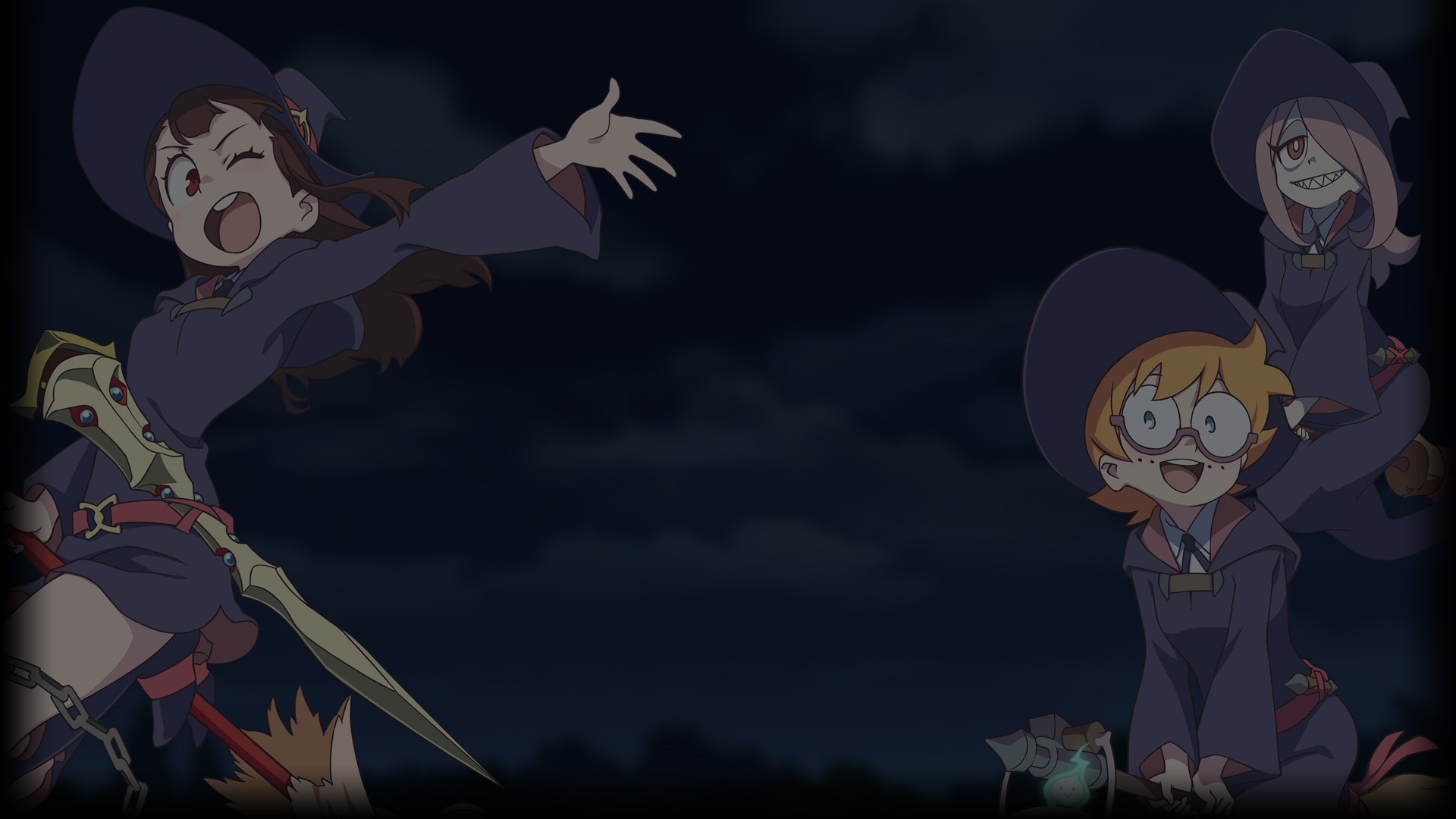 Little Witch Academia PC Wallpaper HD