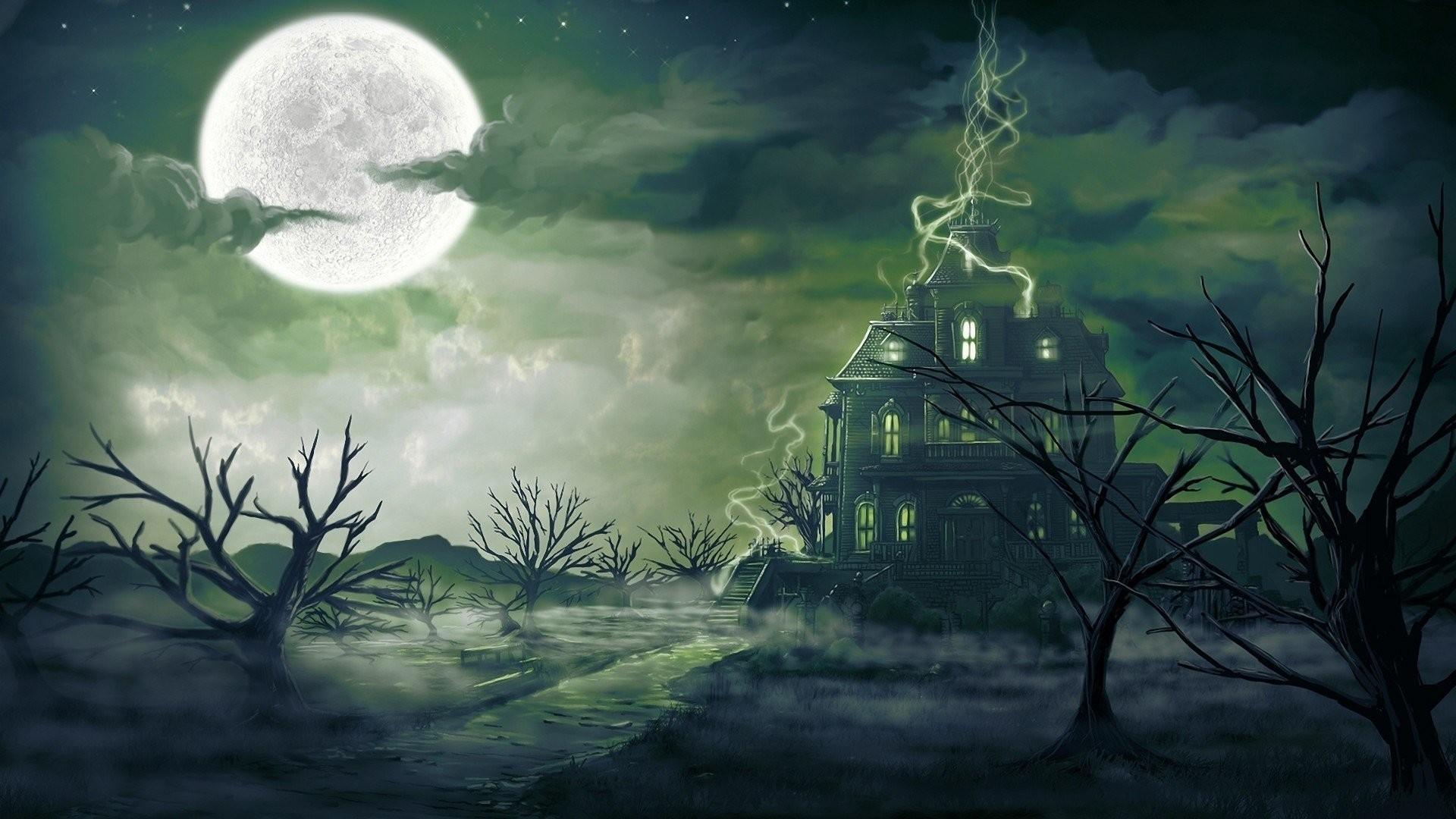 Spooky Vector Wallpaper image hd