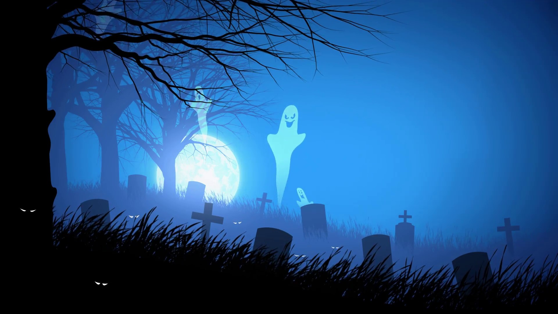 Spooky Vector Download Wallpaper
