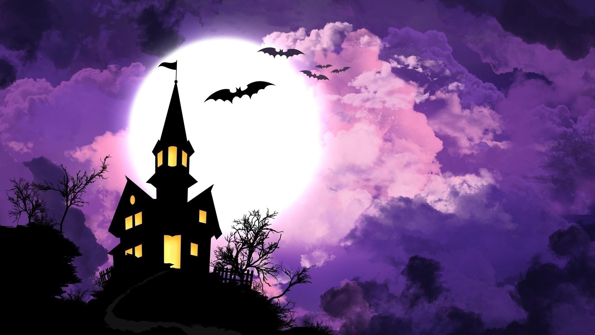 Spooky Vector Free Wallpaper