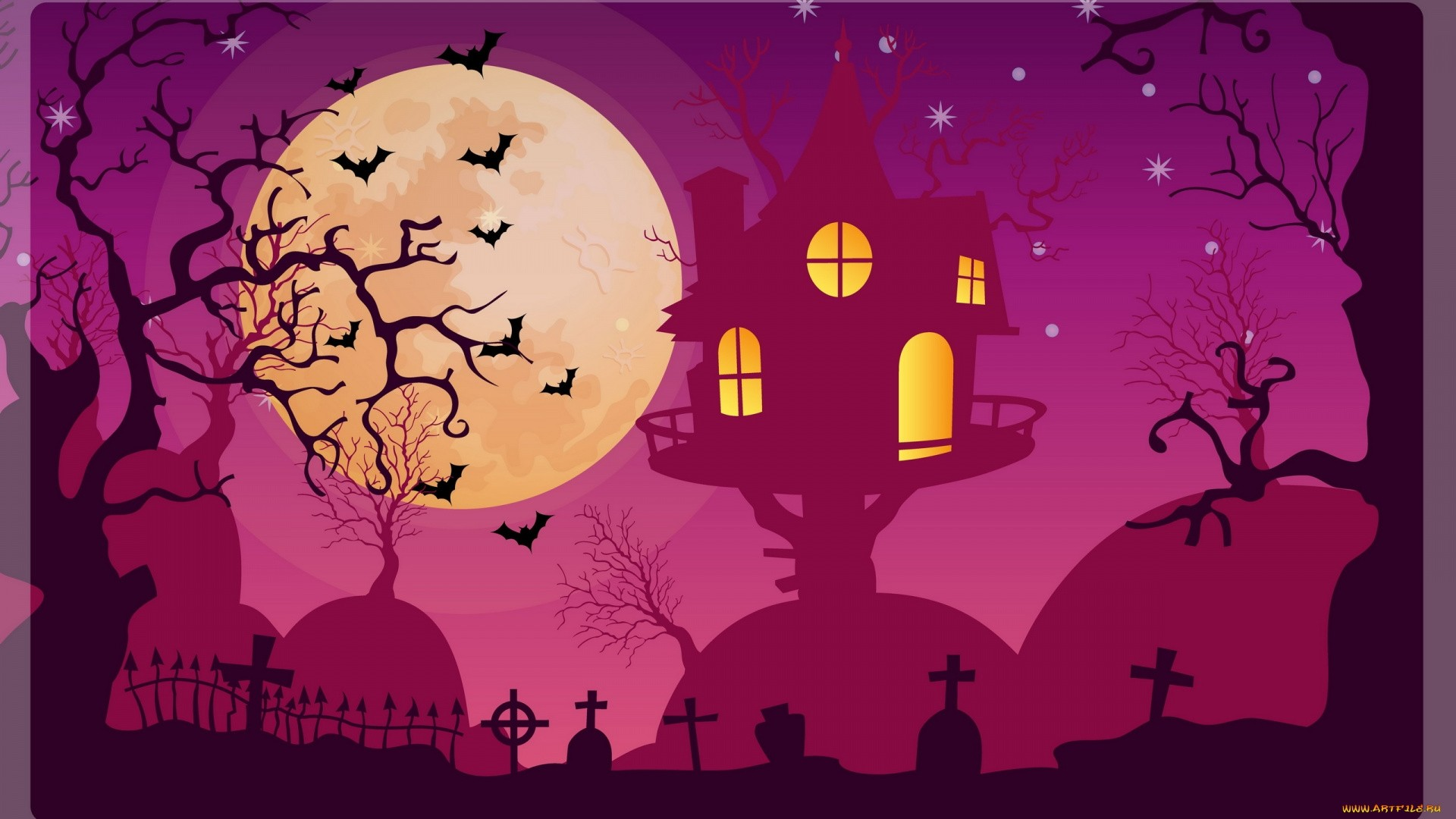 Spooky Vector hd wallpaper download