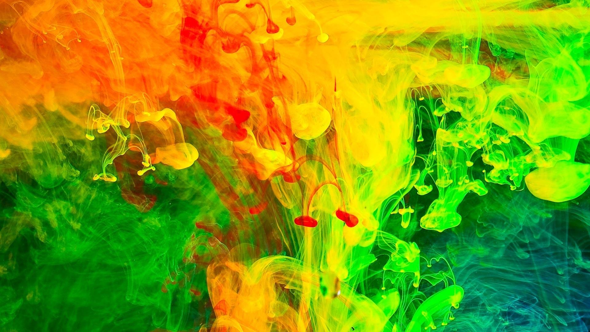 Paint Splash Desktop Wallpaper