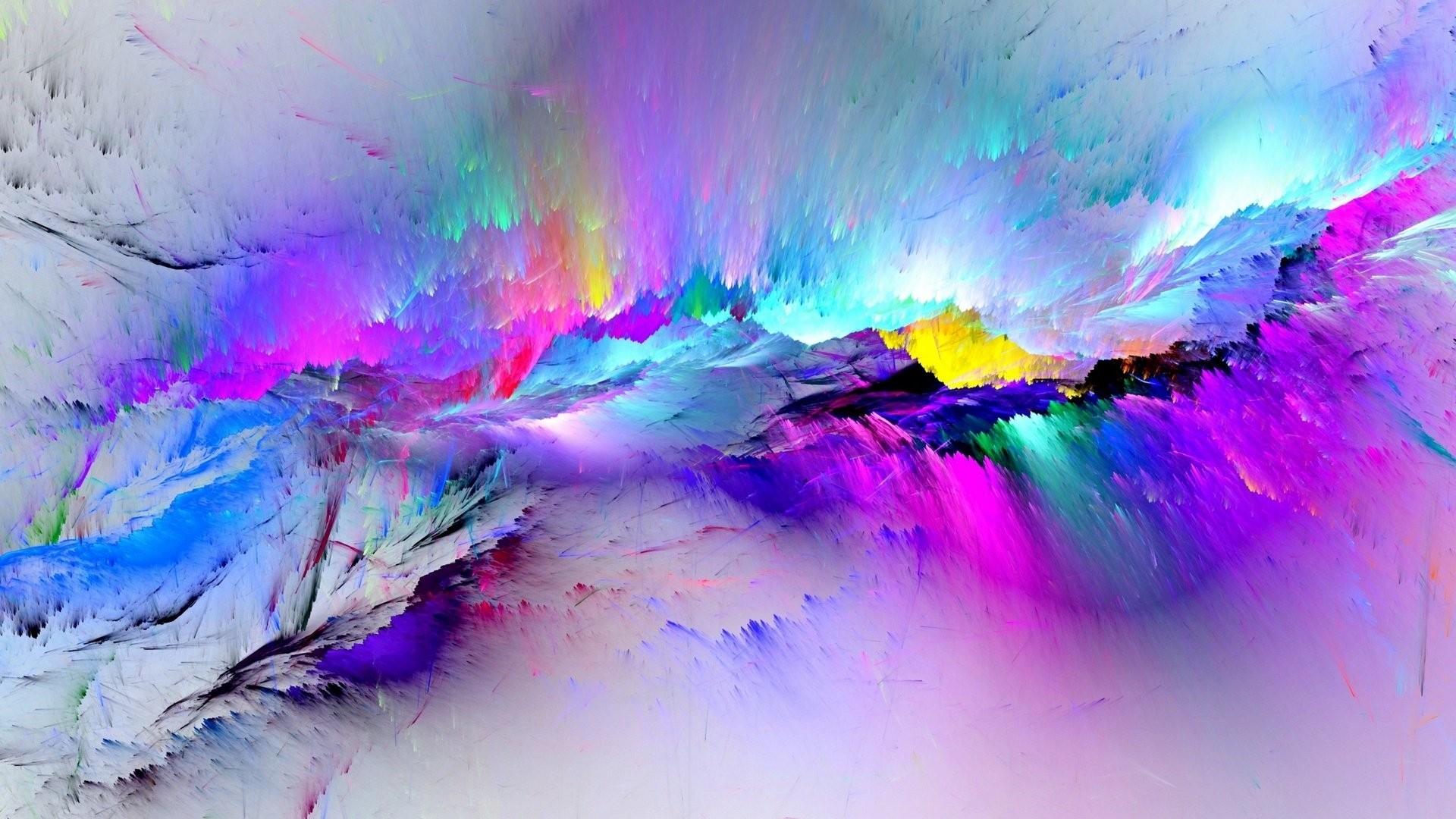 Paint Splash Free Wallpaper
