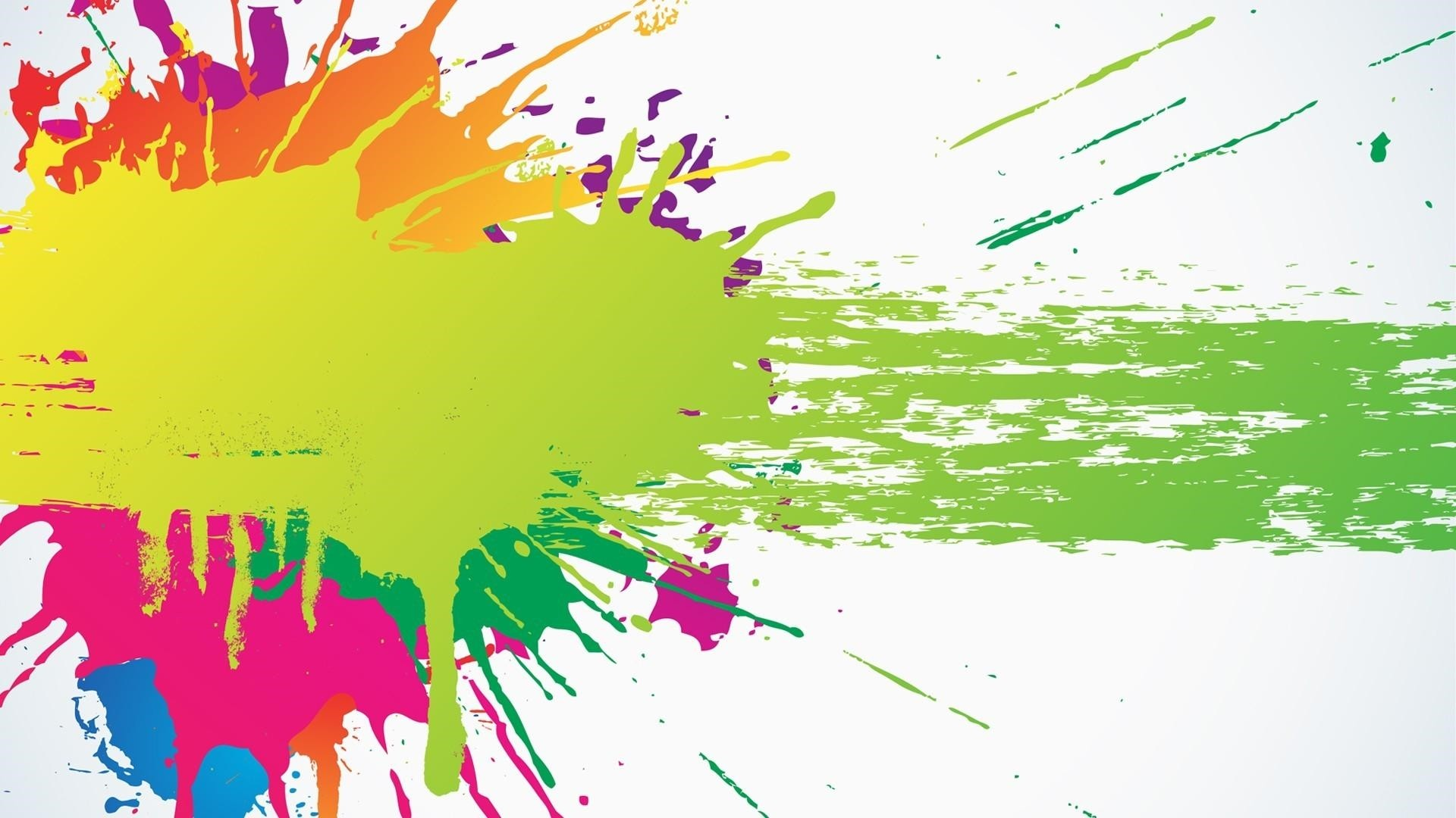 Paint Splash Wallpaper and Background