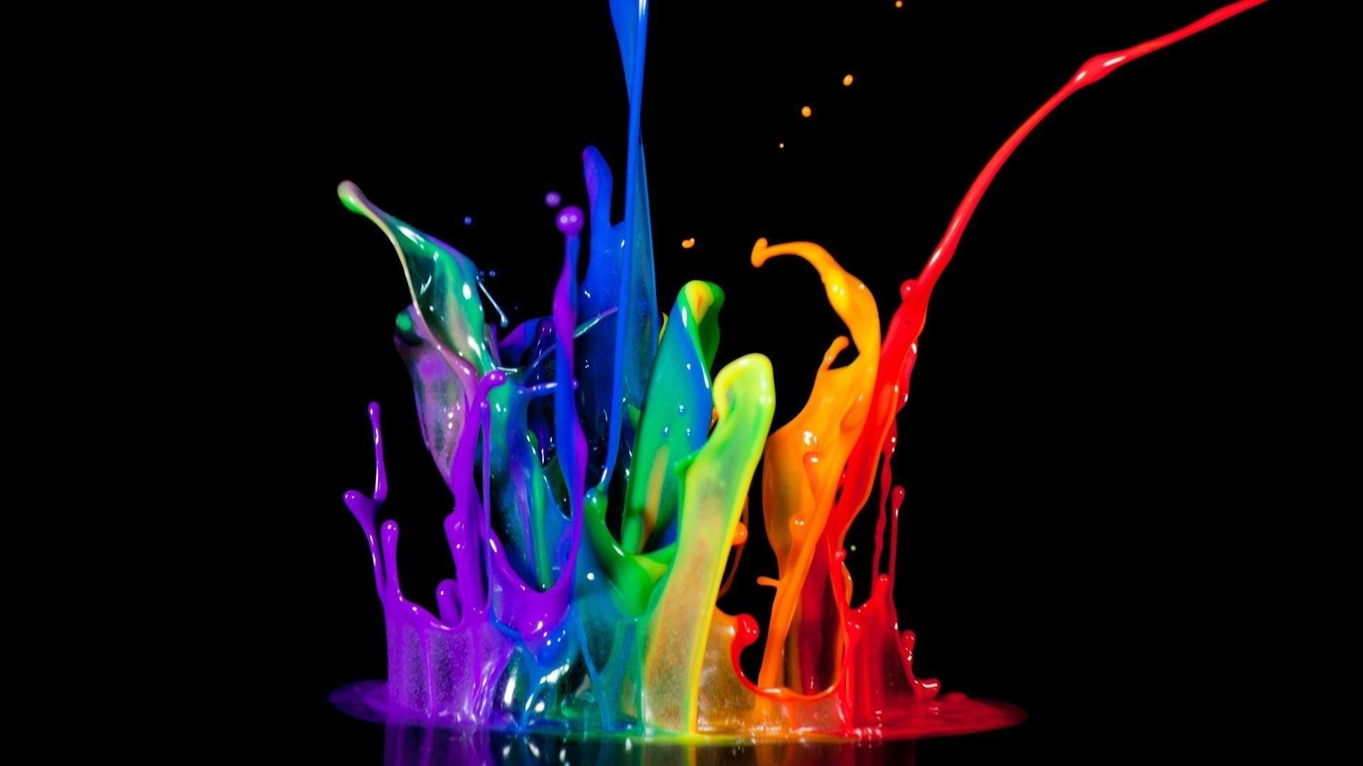Paint Splash hd desktop wallpaper