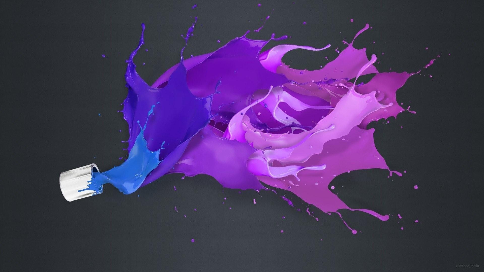 Paint Splash PC Wallpaper HD