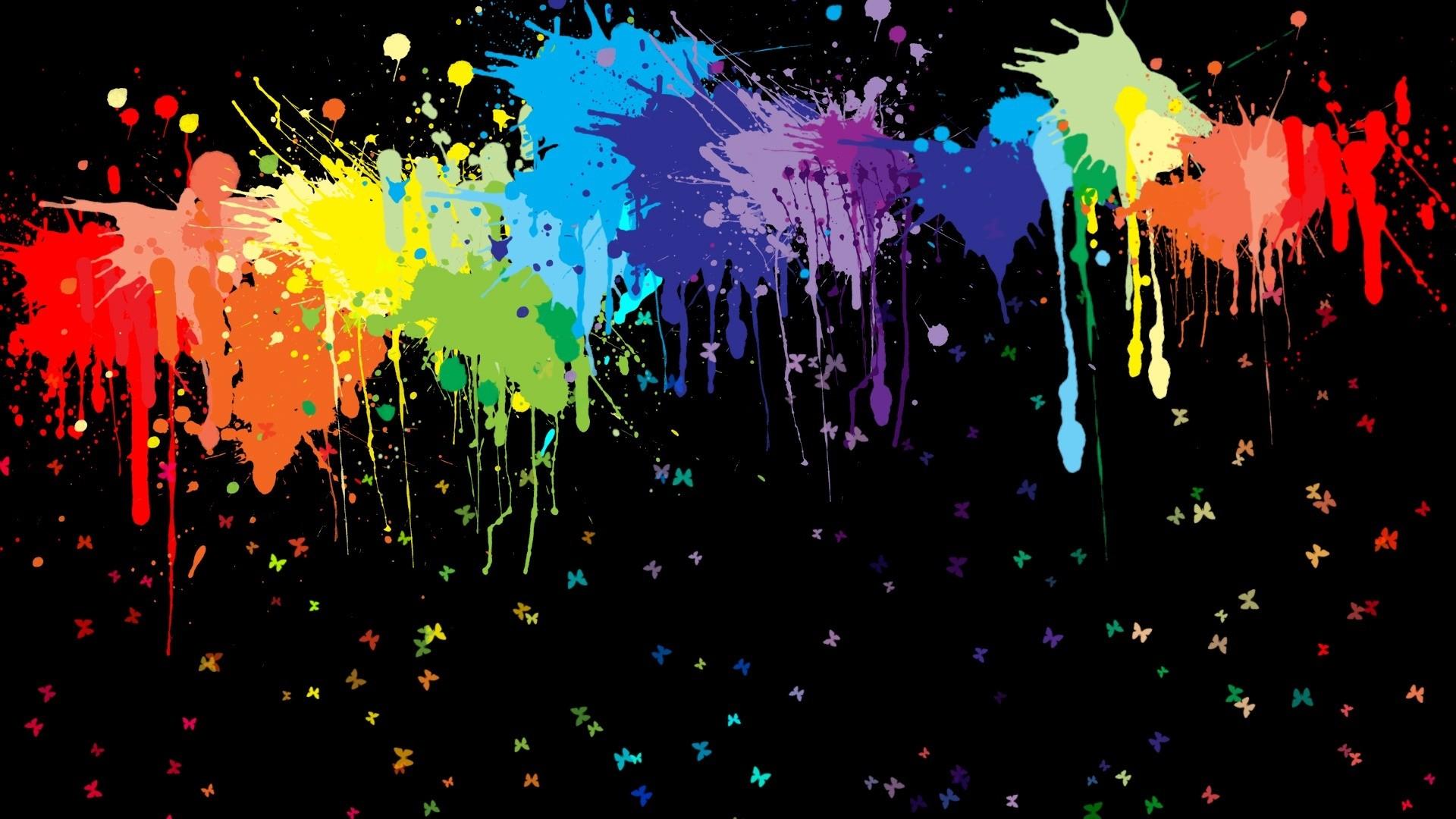 Paint Splash wallpaper