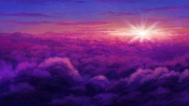 Purple Sky wallpaper photo hd