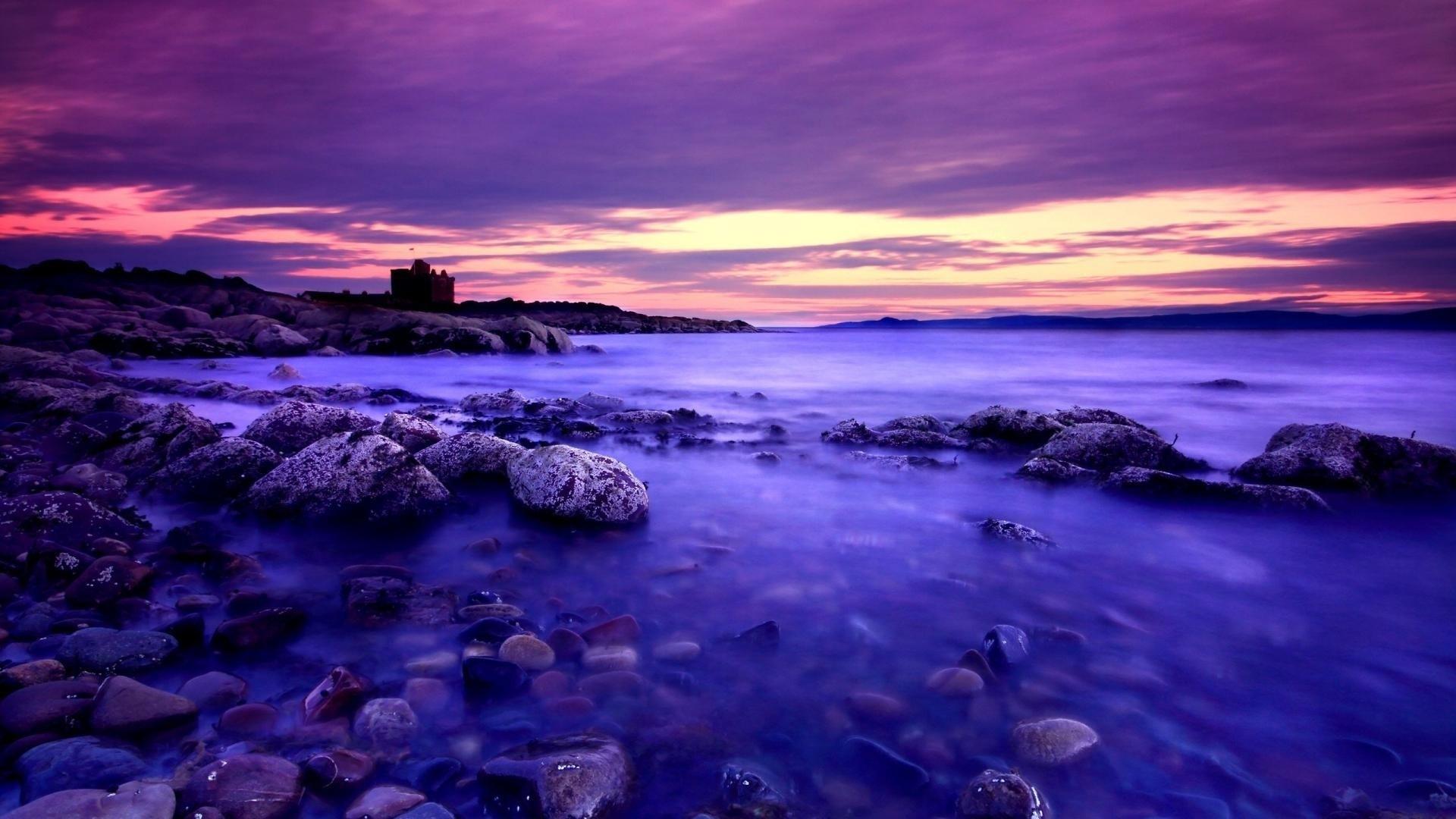 Purple Sky Wallpaper