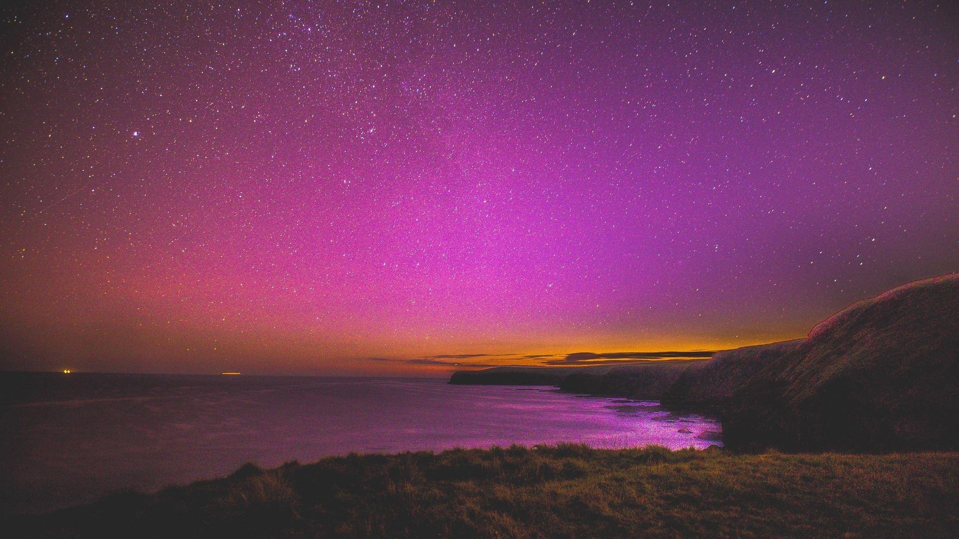Purple Sky Pic