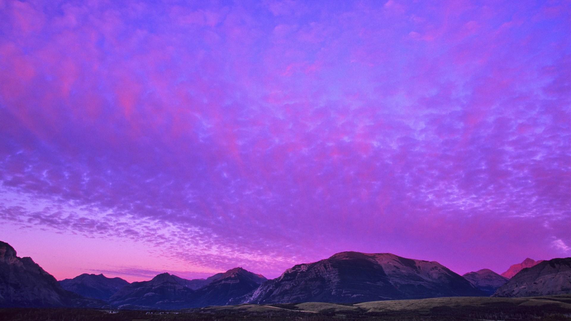 Purple Sky Wallpaper Picture hd